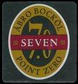 �bro Bock�l seven point zero - Frontlabel