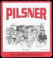 Pilsner stark�l - Frontlabel