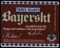 Three Hearts Bayerskt - Frontlabel
