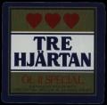 Tre Hj�rtan - Frontlabel