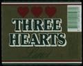 Three Hearts - Frontlabel