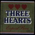Three Hearts export beer - Frontlabel