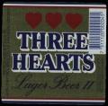 Three Hearts Lager Beer II - Frontlabel
