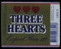 Three Hearts Lager Beer III - Frontlabel