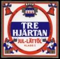Tre Hj�rtan - Jul - L�tt�l - Frontlabel