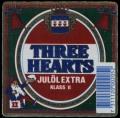 Three Hearts Jul�l Extra Klass II - Frontlabel