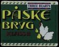 Three Hearts Jul�l P�skebryg - Frontlabel