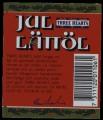 Three Hearts Jul�l L�tt�l - Backlabel