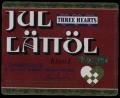 Three Hearts Jul�l L�tt�l - Frontlabel