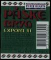 Three Hearts P�ske Bryg Export III - Backlabel