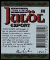 Three Hearts Jul�l Export III - Backlabel