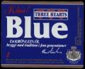 Three Hearts Blue - Frontlabel