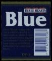 Three Hearts Blue - Backlabel