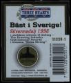 Three Hearts - Backlabel