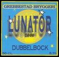 Lunator 2000 Dubbelbock - Frontlabel
