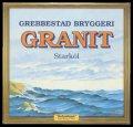 Granit st�rk�l - Frontlabel