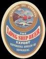Long ship beer export - Frontlabel