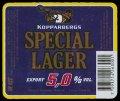 Special Lager export - Frontlabel
