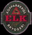 Elk Lager - Frontlabel