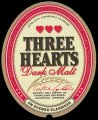 Three Hearts Dark Malt - Frontlabel