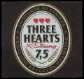 Three Hearts X-Strong 7,5 - Frontlabel