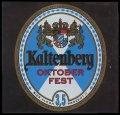 Kaltenberg Oktober Fest - Frontlabel
