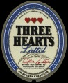 Three Hearts L�tt�l - Frontlabel