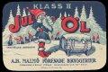 Jul �l Klass II - Frontlabel