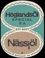 H�glands�l N�ssj�l - Frontlabel