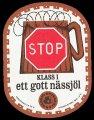Stop ett gott N�ssj�l - Frontlabel