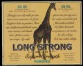 Long Strong export strength Premium - Frontlabel