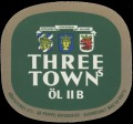Three Towns �l IIB - Frontlabel
