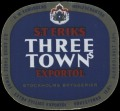 St. Eriks Three Towns export�l - Frontlabel