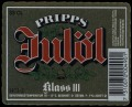Pripps Jul�l Klass III - Frontlabel with barcode