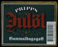 Pripps Jul�l Gammaldagsgott - Frontlabel with barcode