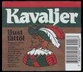 Kavaljer Ljust L�tt�l - Frontlabel with barcode