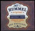Hummel Original Provis Drycker �re Bryggeri - Frontlabel