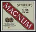 Spendrups Magnum Genuine Brew � Litre - Frontlabel