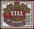 Till �l klass II - Frontlabel with barcode