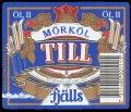 Till Fj�ls M�rk�l II - Frontlabel with barcode