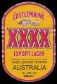 Castlemain XXXX Export Lager - Frontlabel
