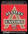 Alloas export 80/- Ale