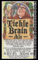 Tickle Brain Ale - Backlabel