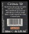 Christmas Ale - Backlabel