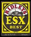 ESX Best - Frontlabel