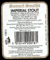 Samuel Smith Imperial Stout - Backlabel