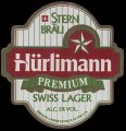 H�rlimann Premium Swiss Lager - Frontlabel