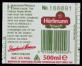 H�rlimann Premium Swiss Lager - Backlabel