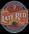 Late Red - Frontlabel