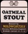Oatmeal Stout - Frontlabel